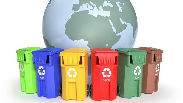 Zber vytriedeného odpadu
