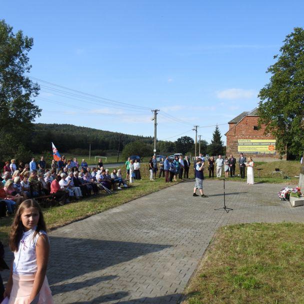 170.výročie povstania slovenského ľudu v miestnej časti Šance, nedeľa 16.9.2018