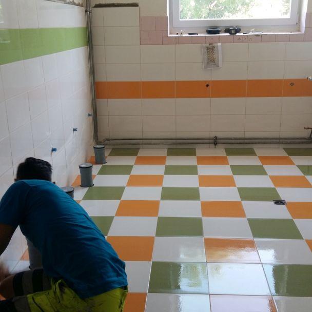 MŠ oprava kúpelne