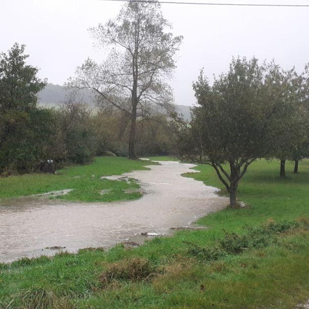 Povodeň október 2020