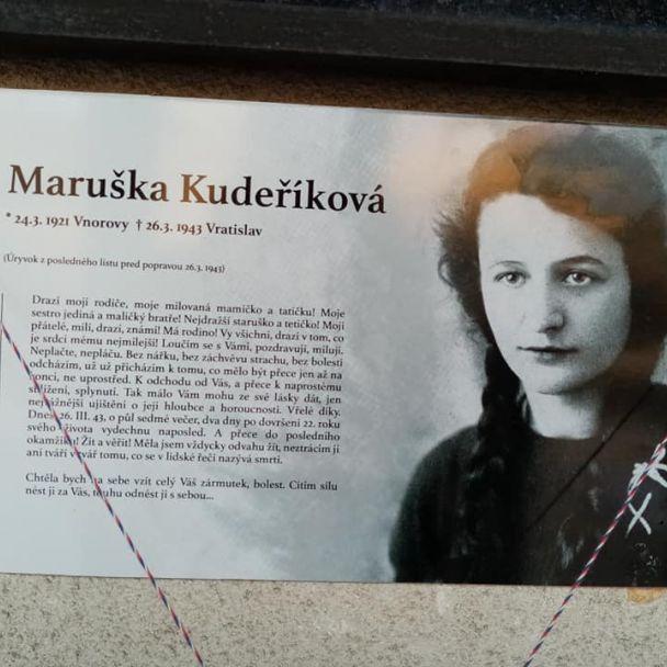 Maruška Kudeříková