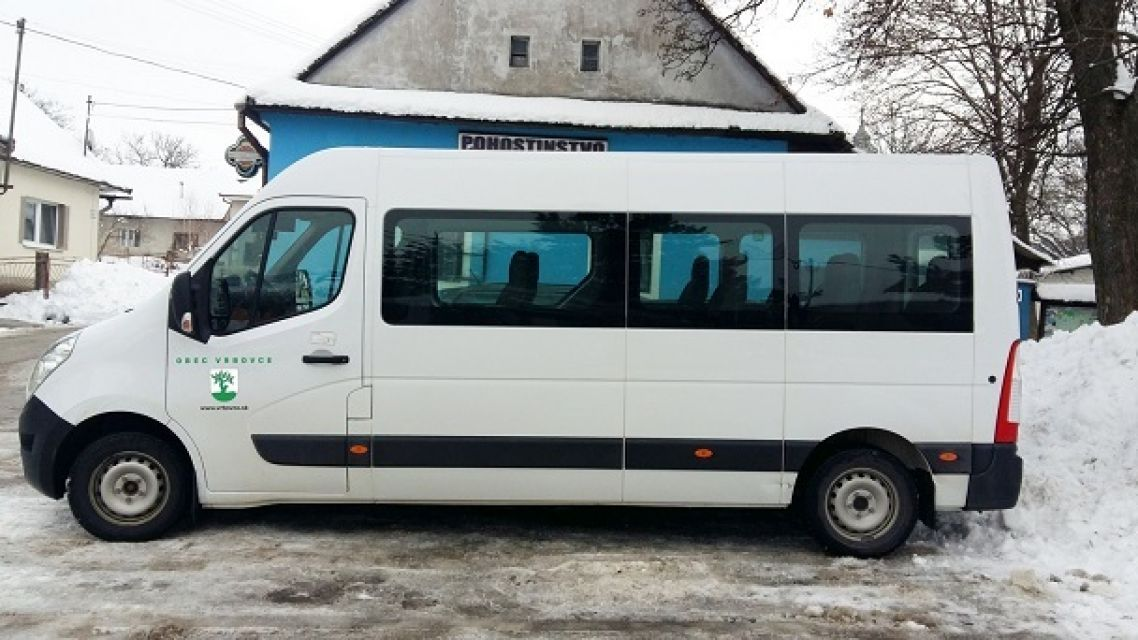 Cestovný poriadok minibusu